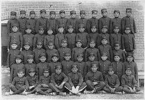 An Indian Boarding School in New Mexico