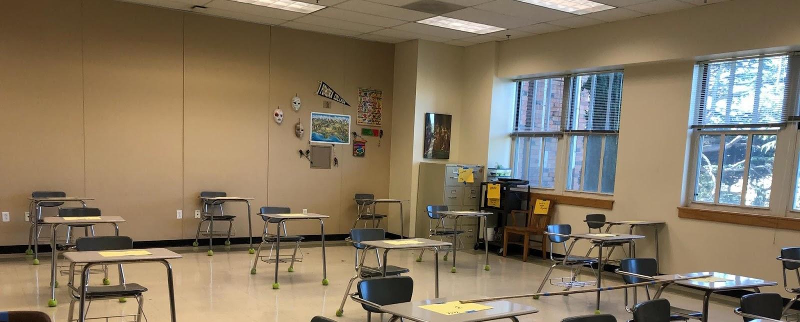 Distance Classroom Setup
